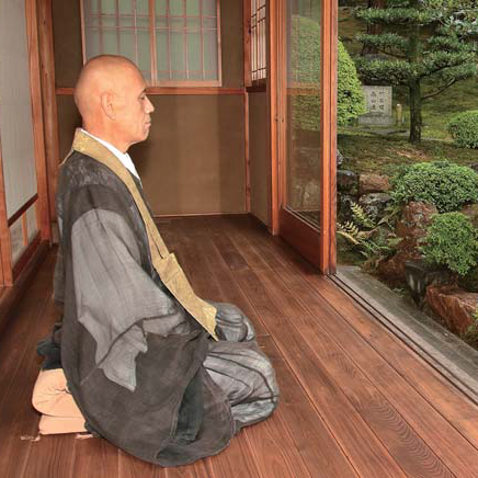 Zen Meditation with Monk 2