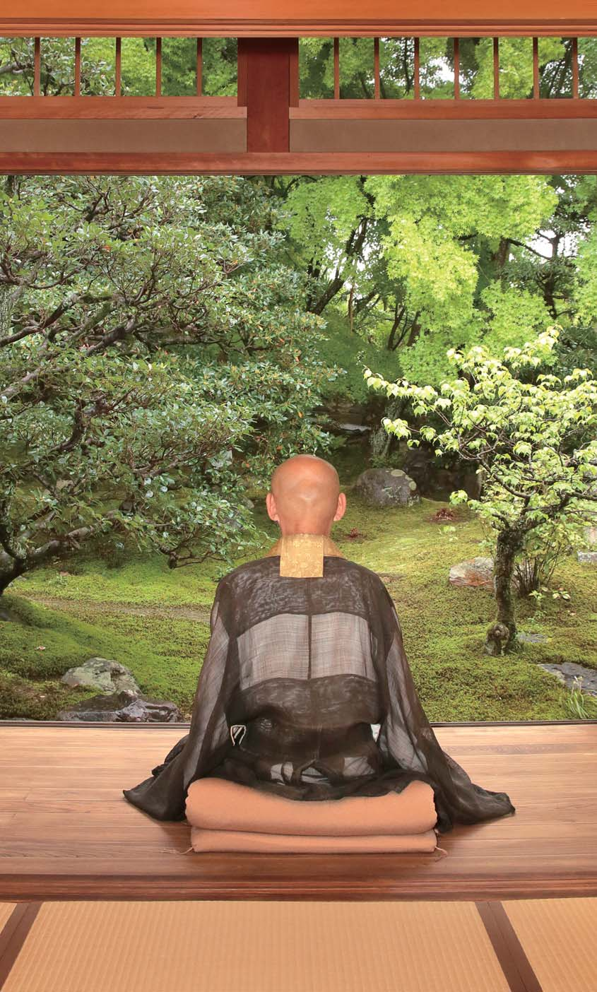 Zen Meditation with Monk 1