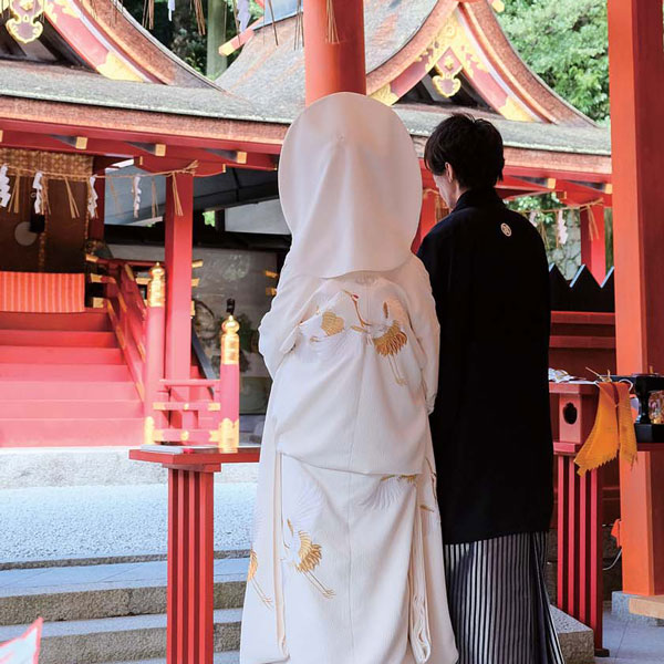Japanese culture experience Kekkonshiki