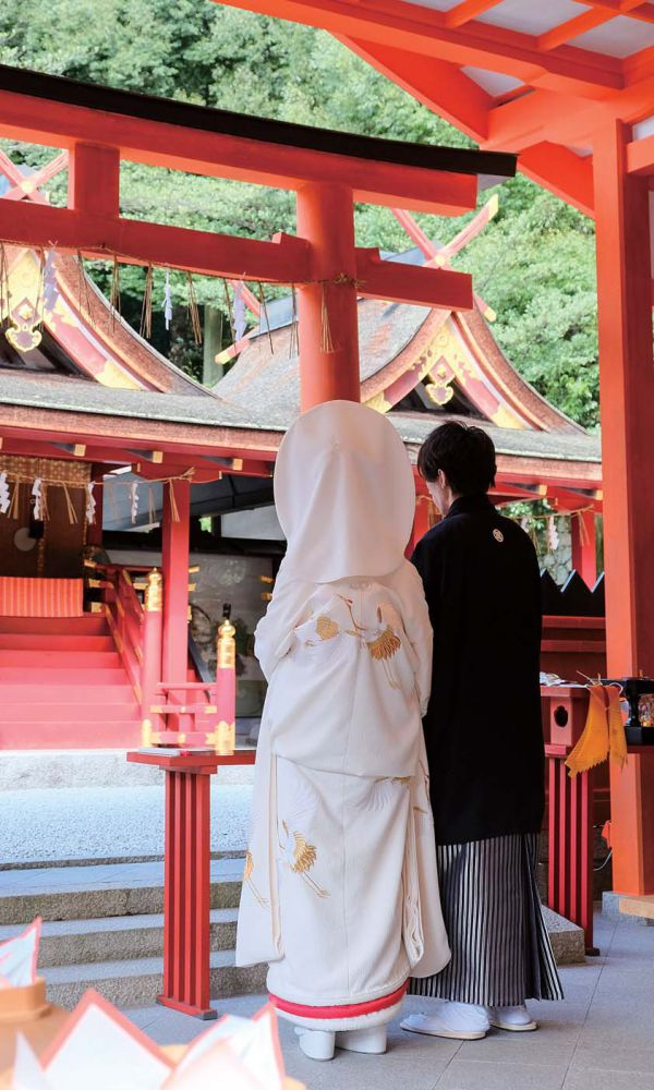 Experience a Shinto-style Wedding 5